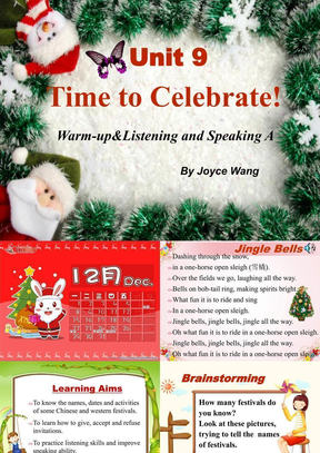 职专 Book1 Unit 9 Time to Celebrate(修改版).ppt