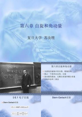 量子力学(复旦)chapter6.ppt