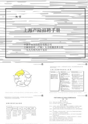 419 麦肯锡—平安保险招聘手册.ppt