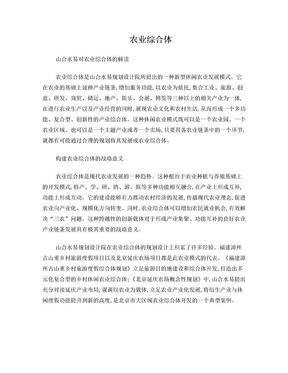 农业综合体.doc