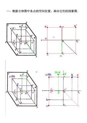 电大 《建筑制图基础》形成性考核册作业1答案.docx