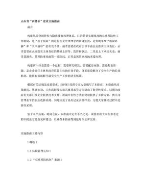 山东省两体系.doc