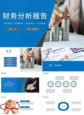 财务分析报告模板.pptx