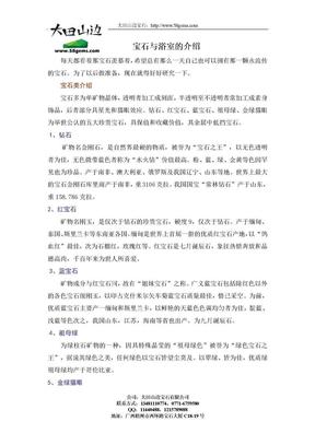 宝石与玉石介绍.doc