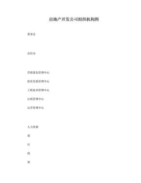房地产公司组织架构图.doc