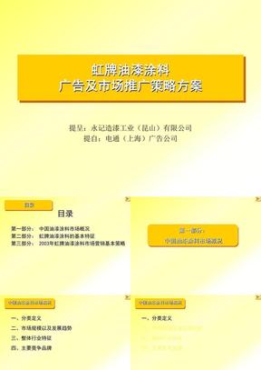 120511油漆涂料广告及市场推广策略方案.ppt