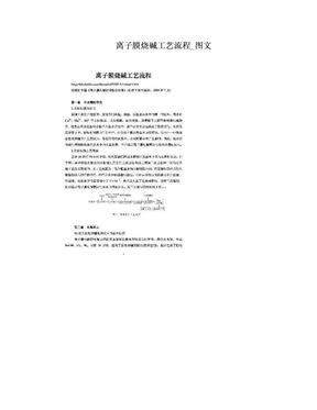 离子膜烧碱工艺流程_图文.doc