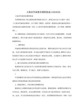 上海市学前教育课程指南34859592.doc