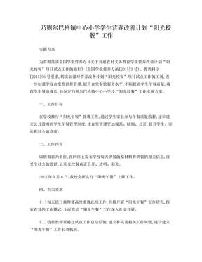 (阳光校餐实施方案).doc