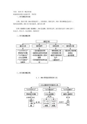 生物必修3概念图汇编.docx
