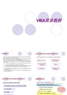 VBA最最精典的教程(基础入门).ppt