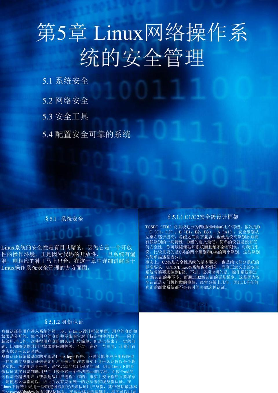 第5章 Linux网络操作系统安全管理.ppt