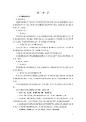 法理学重点考试版.doc