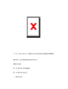 十三五(2016-2020年)中国铌合金行业运行模式及发展前景预测报告.doc