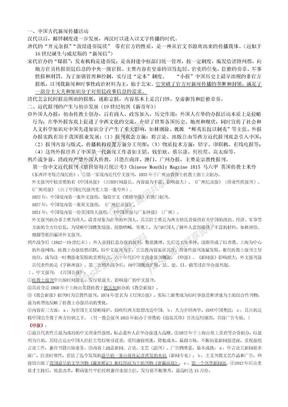 中国新闻传播史(第二版)方汉奇 整理笔记.doc