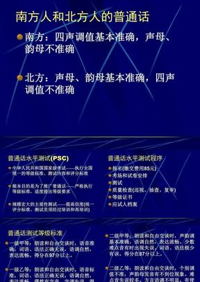 学生普通话水平测试培训.ppt