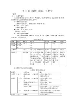 第10課京都の紅葉は有名です.doc