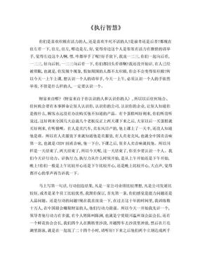 最完整刘一秒执行智慧逐字稿.doc