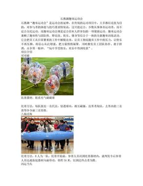 石燕湖趣味运动会项目介绍.doc