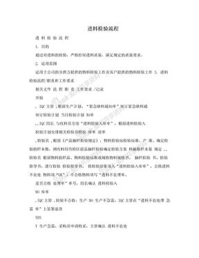 进料检验流程.doc