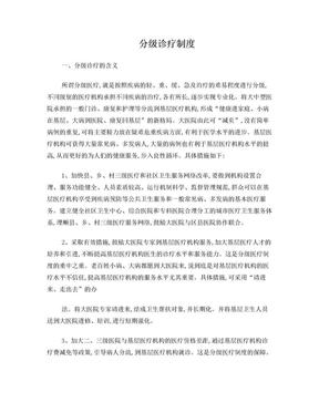 分级诊疗制度 (2).doc