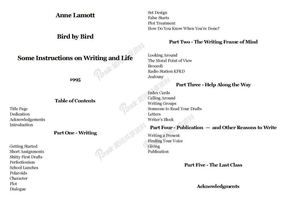 Anne Lamott Bird by Bird Some Instructions on Writing and Life.docx