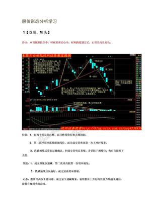 股价形态分析学习摘要.doc