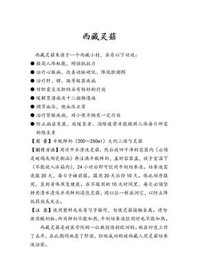 西藏灵菇.doc