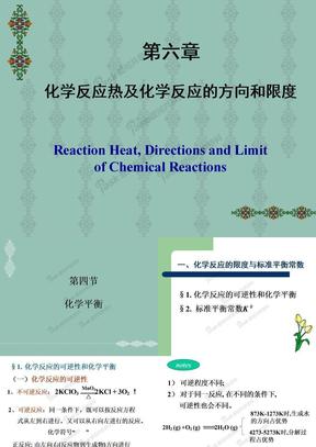 第六章 化学反应的方向与限度.ppt