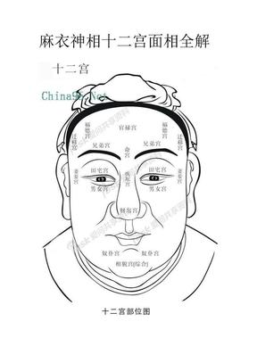 麻衣神相十二宫面相全解.doc