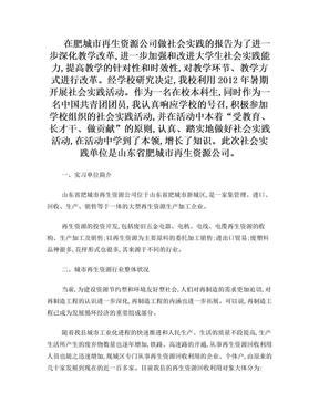 企业社会实践报告.doc