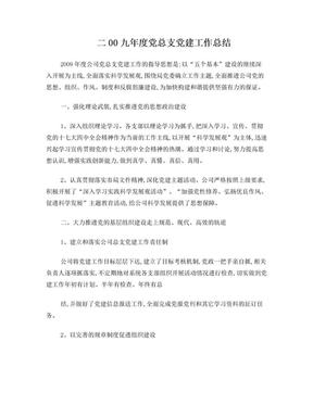 年度党总支党建工作总结.doc