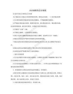 小企业财务会计制度.doc