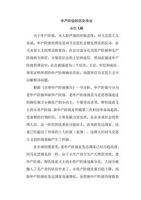 中产阶级的历史命运.doc