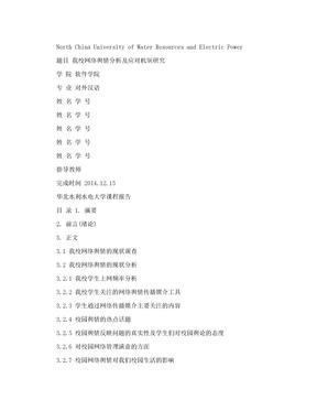 网络舆情分析报告.doc