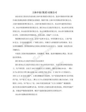 上海中浪(集团)有限公司.doc