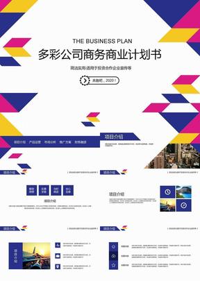多彩商业商务公司项目计划PPT 178.pptx