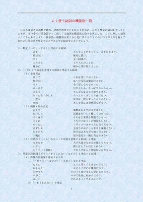 日语副词分类详解.doc