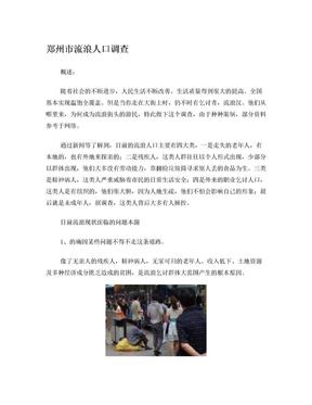 郑州市流浪人口调查.doc
