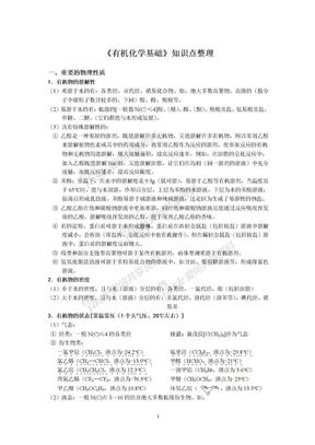 高中化学选修5知识点整理.doc