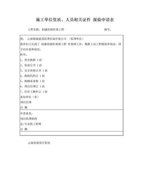 施工单位资质报审表.doc