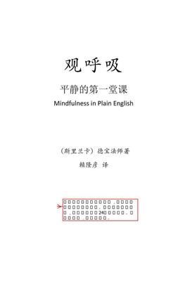 观呼吸:平静的第一堂课.pdf