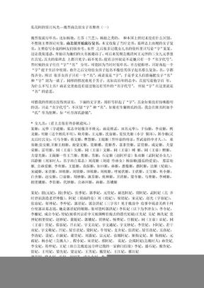 魏晋南北朝女子名整理.doc
