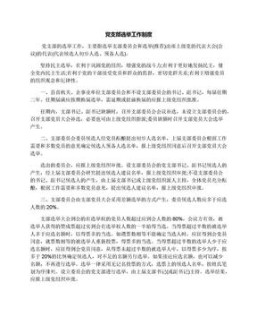 党支部选举工作制度.docx