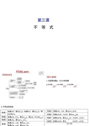 【人教版高中数学必修五PPT课件】第三课 不等式 模块复习课 3 .ppt