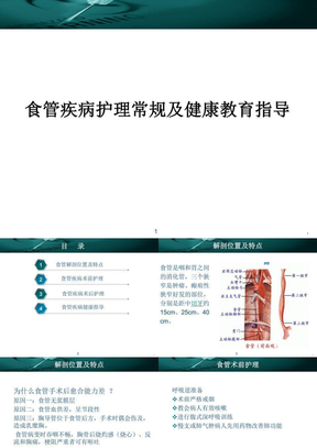 (精品)食管疾病的护理常规-PPT演示课件.ppt