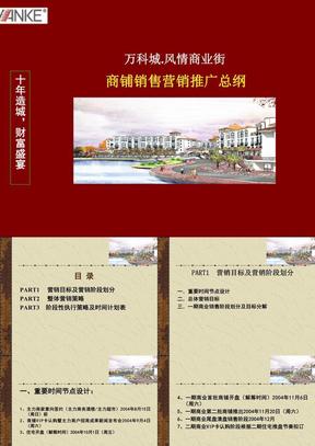 房地产策划案例:风情商业街.ppt