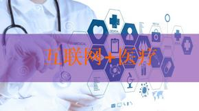 """2016-2017年""""互联网+""""医疗行业分析ppt模板课件"""