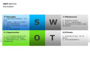 SWOT分析最好模板.ppt