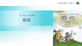 三年级下册语文课件-3 荷花∣人教新课标 (共22张PPT).ppt